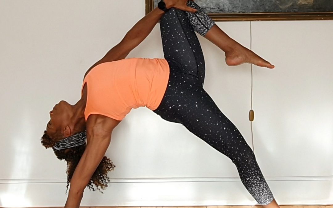 A warming yoga routine for winter days