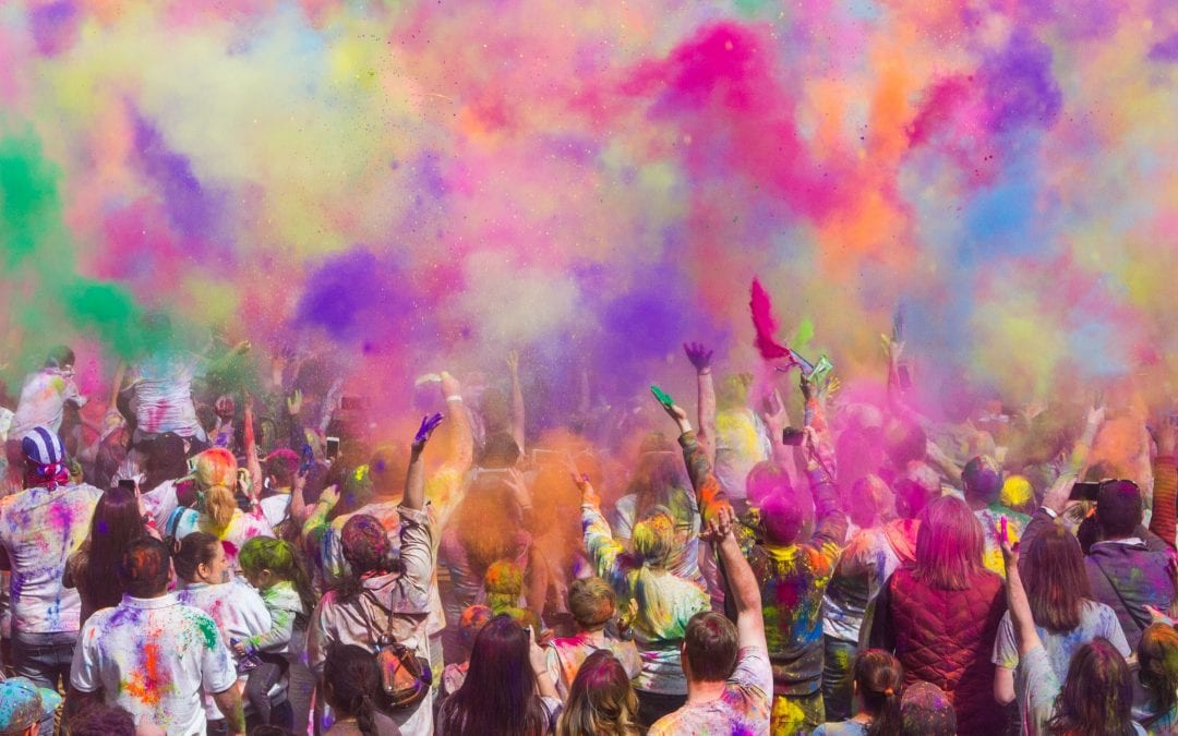 The Festival of Holi. A celebration of life and colours