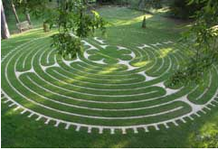 Tofte Manor Labyrinth